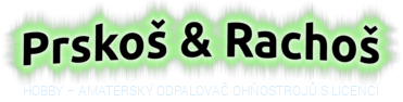 Prskoš & Rachoš – Odpalování ohňostrojů